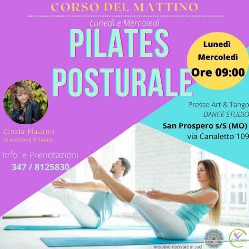 Pilates Posturale del Mattino con Cinzia
